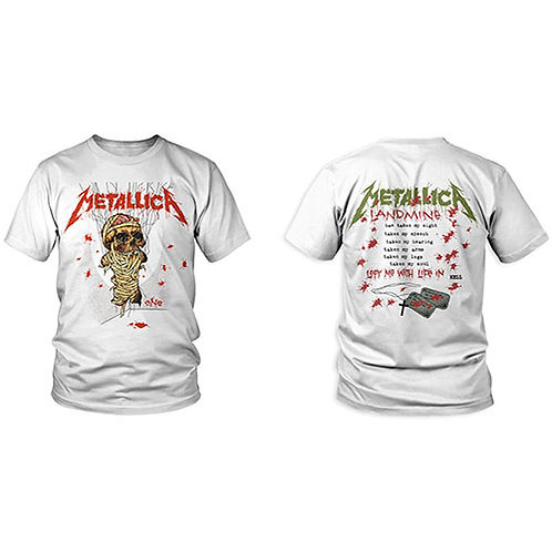 METALLICA - One Landmine - OFFICIAL T shirt
