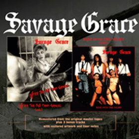 SAVAGE GRACE - After the Fall from Grace/Ride into the Night - CD