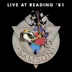 SAMSON - Live At Reading' 81- DIGI CD