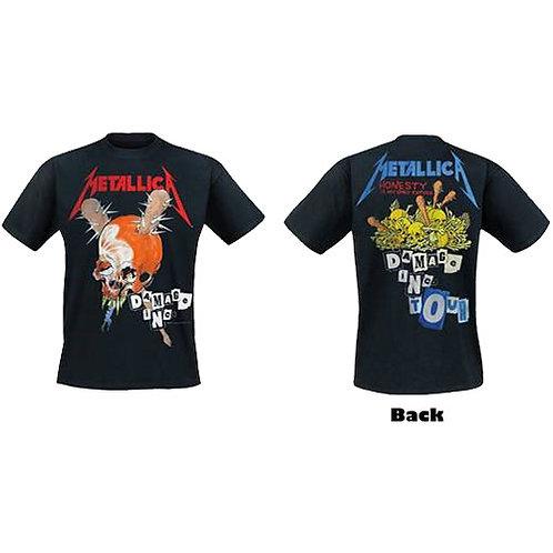 METALLICA - Damage Inc. - OFFICIAL T shirt