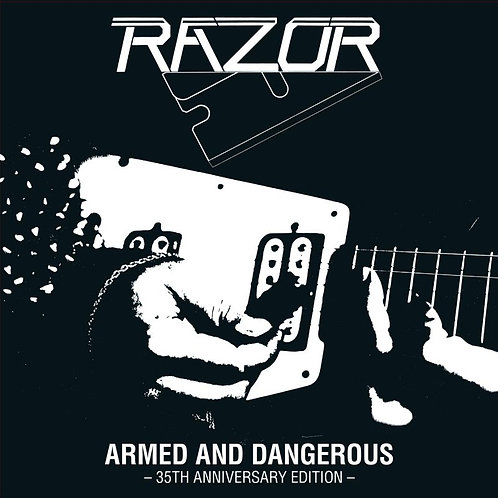 RAZOR - Armed and Dangerous 35TH ANNIVERSARY - LP