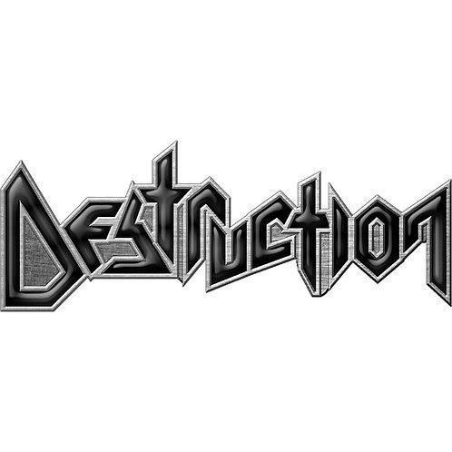 DESTRUCTION - Badge Metal