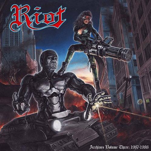 RIOT - Archives vol 3 - Double LP + DVD