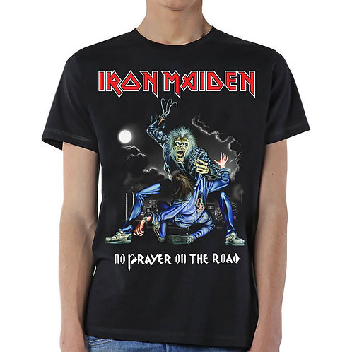 IRON MAIDEN - No Prayer On The Road - Official T shirt