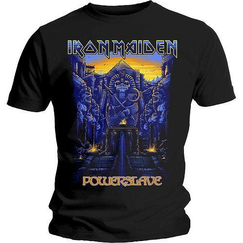 IRON MAIDEN - Powerslave Dark Ink - Official T shirt