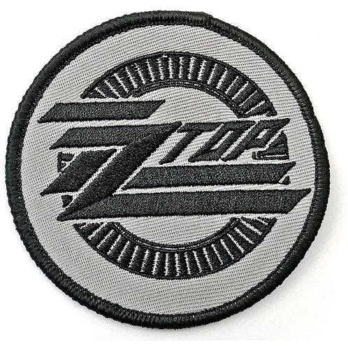 ZZ TOP - LOGO CIRCLE - OFFICIEL WOVEN PATCH