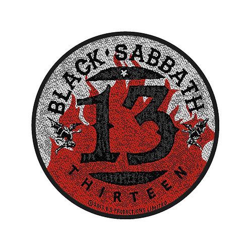 BLACK SABBATH - 13 - OFFICIEL WOVEN PATCH