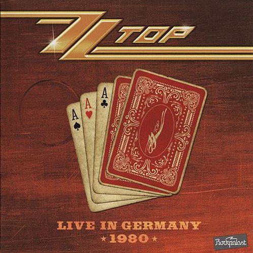 ZZ TOP - LIVE IN GERMANY 1980 - CD