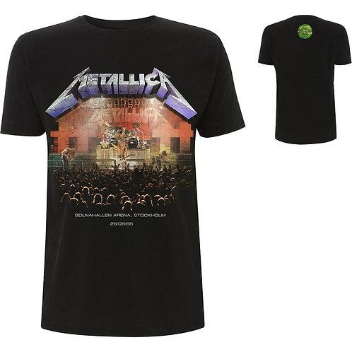 METALLICA - Stockholm 86 - OFFICIAL T shirt