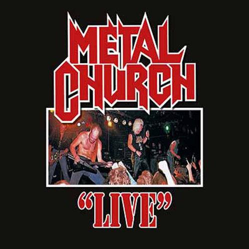 METAL CHURCH - LIVE - LP