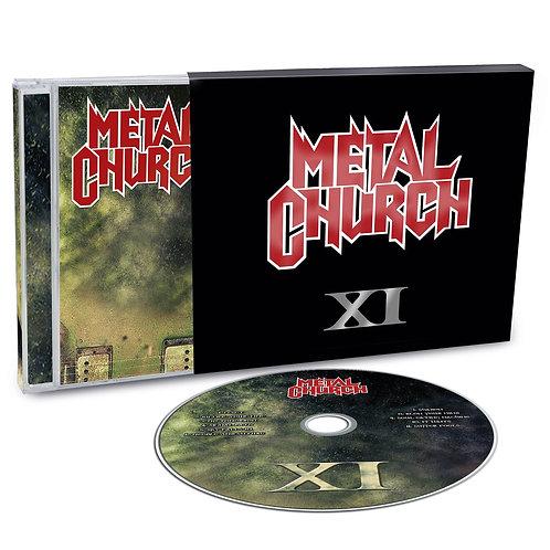 METAL CHURCH - XI - SLIPCASE CD