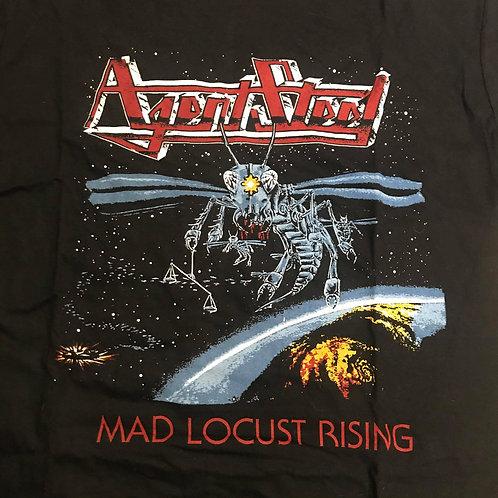 AGENT STEEL - Mad Locust Rising - Cult  T Shirt