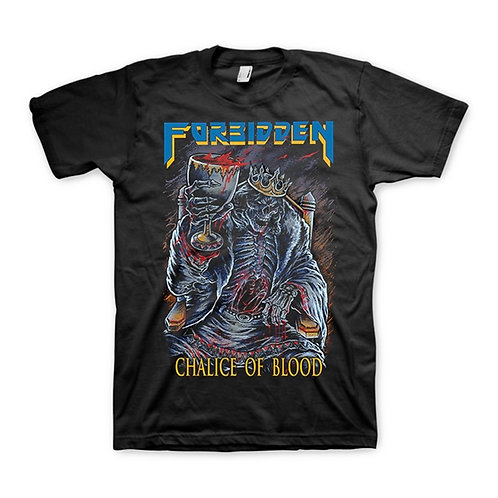 FORBIDDEN - Chalice of Blood - T shirt