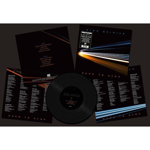 HIGH SPIRITS - Hard To Stop - Black LP