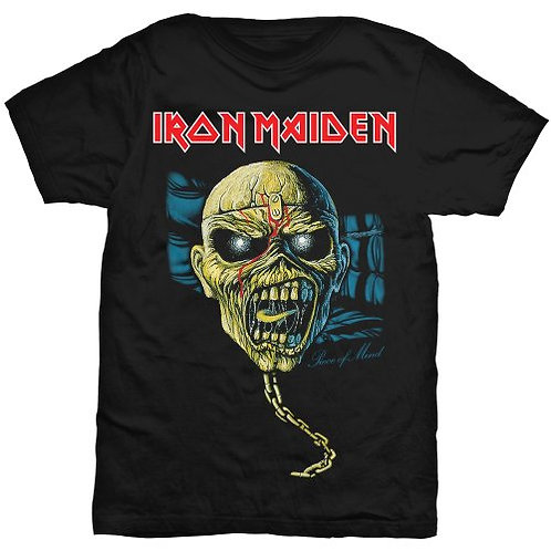 IRON MAIDEN - Piece Of Mind Chain - Official T shirt