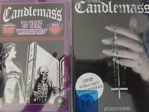 COMBO 2 DVD - CANDLEMASS