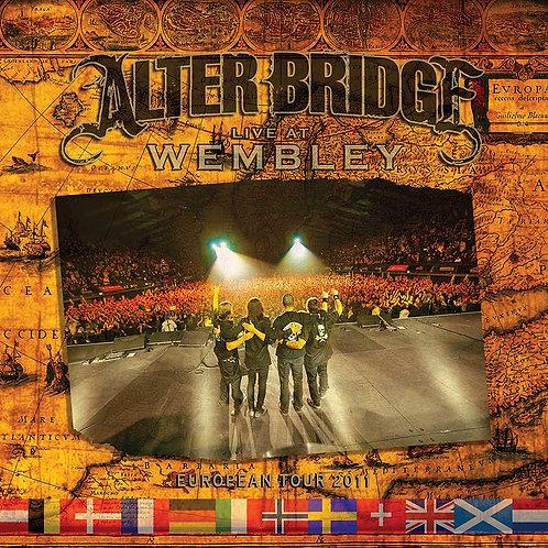 ALTER BRIDGE - LIVE AT WEMBLEY - EUROPEAN TOUR 2011 - DIGI CD + 2DVD
