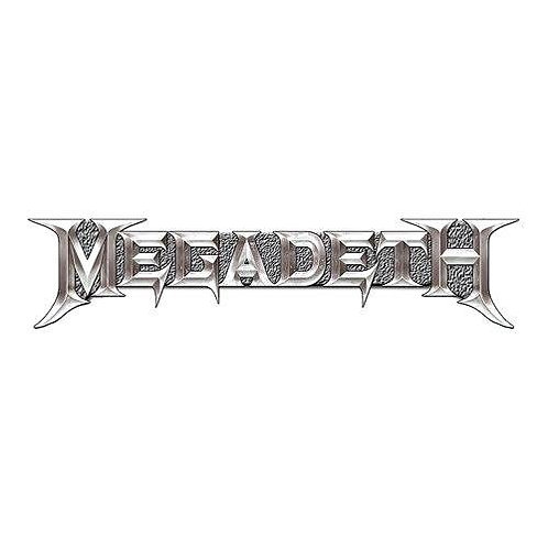 MEGADETH - Badge Metal