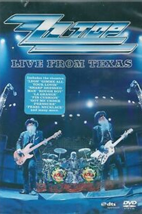 ZZ TOP - LIVE FROM TEXAS - DVD
