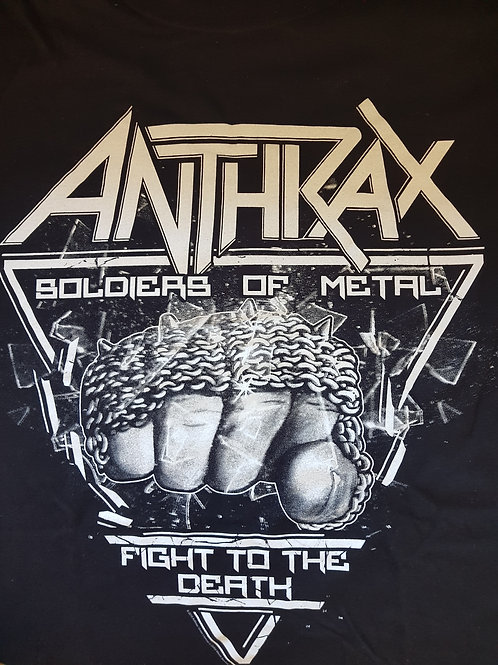 ANTHRAX - Soldier Of Metal - Size L