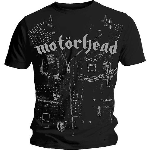MOTORHEAD - Leather Jacket - Official T-shirt