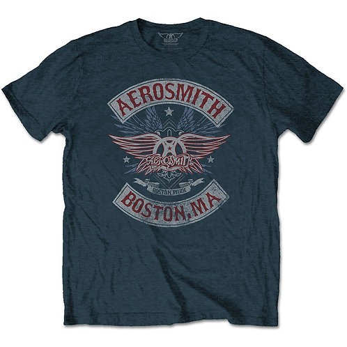 AEROSMITH - Boston Pride T shirt