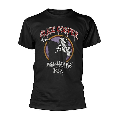 ALICE COOPER - Mad House Rock - T shirt