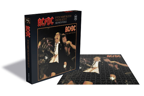 PUZZLE - AC/DC - IF YOU WANT BLOOD