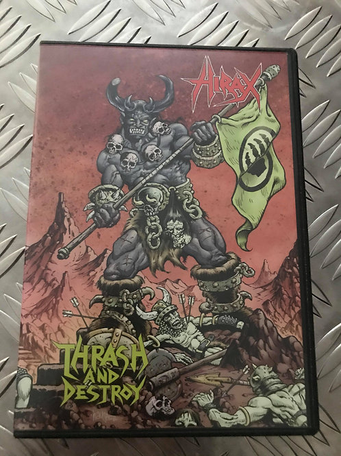 DVD - HIRAX - Thrash And Destroy