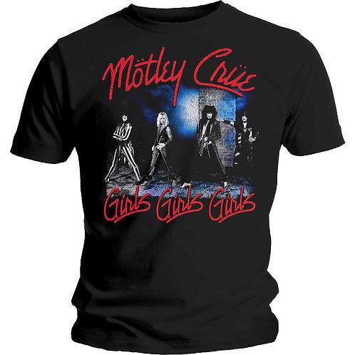 MOTLEY CRUE - Smokey Street - Official T shirt
