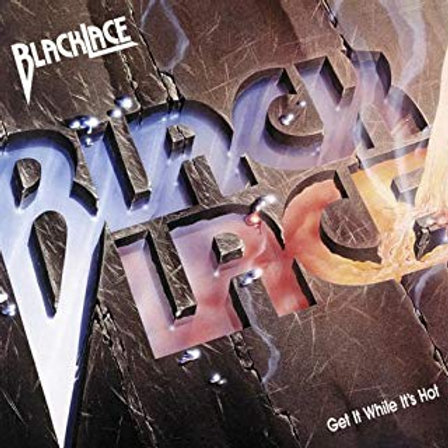 BLACKLACE - Get it while it's hot DIGIPACK CD