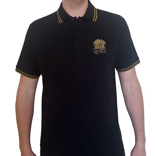 QUEEN - Official Polo shirt - Black