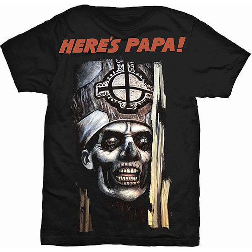 GHOST - Here's PAPA ! - Official T shirt