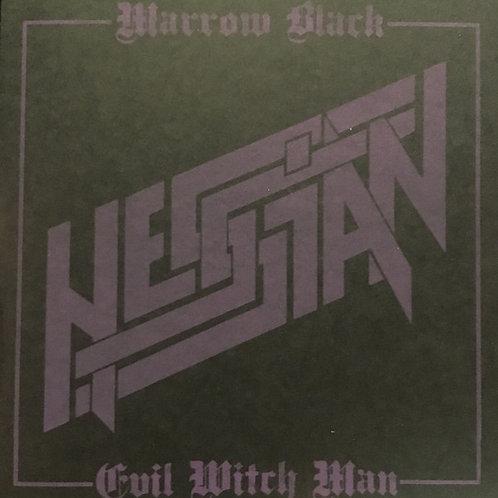 HESSIAN - EVIL WITCH MAN - BLACK EP
