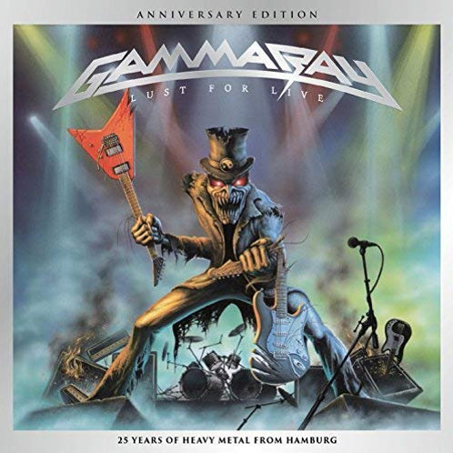 GAMMA RAY - LUST FOR LIVE - DIGI CD