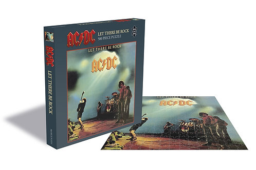 PUZZLE - AC/DC - LET THERE BE ROCK