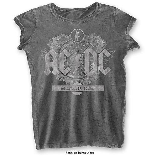 GIRLY - AC/DC - BLACK ICE - GREY SHIRT