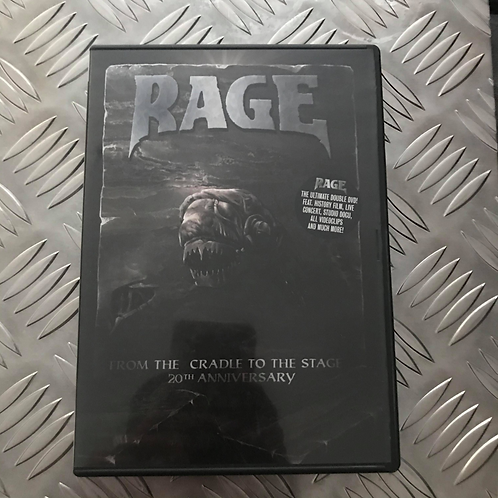 Double DVD - RAGE -From The Cradle To The Stage