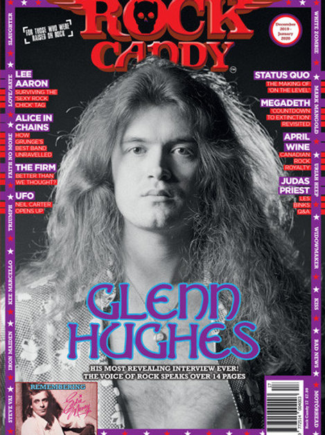ROCK CANDY N° 17 Digital Edition - GLENN HUGHES Cover