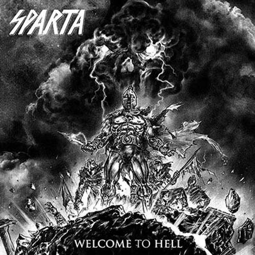 SPARTA -WELCOME TO HELL - LP