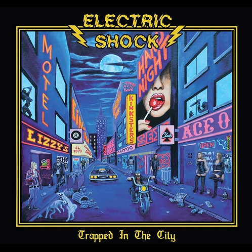 ELECTRIC SHOCK - TRAPPED IN THE CITY - DIGIPACK CD