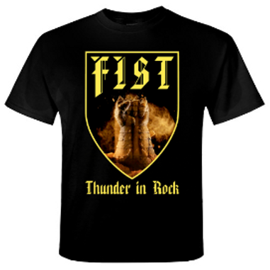 FIST - Thunder In Rock - Official T shirt