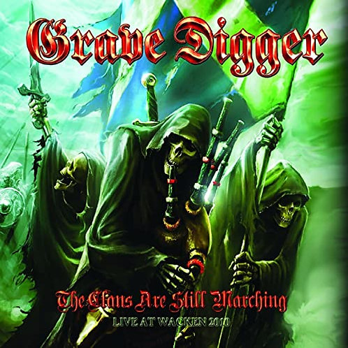 GRAVE DIGGER - THE CLANS ARE STILL MARCHING/LIVE AT WACKEN - DIGIBOOK CD+DVD