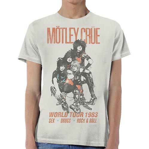MOTLEY CRUE - World tour vintage