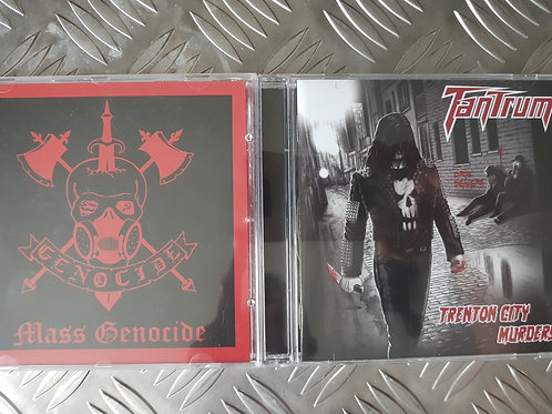 GENOCIDE VS TANTRUM BUNDLE - 2CD