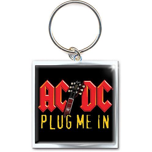 PORTE CLÉS - AC/DC - PLUG ME IN