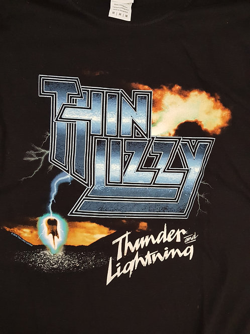 THIN LIZZY - Thunder And Lightning - Size M