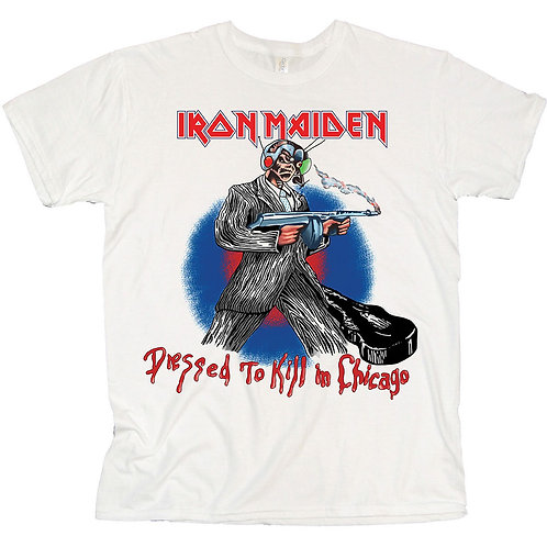 IRON MAIDEN - Chicago Mutants - Official T shirt