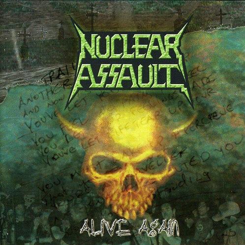 NUCLEAR ASSAULT - Live Again - CD