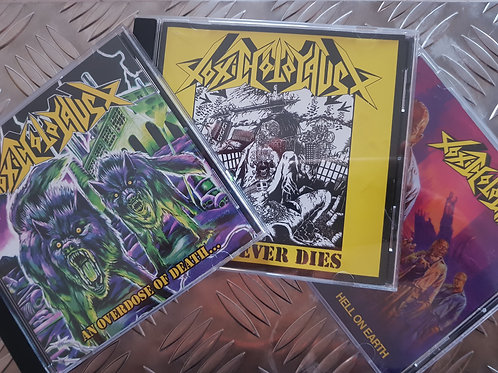 TOXIC HOLOCAUST - AGAINST THE COVID-19 BUNDLE - 3 CD